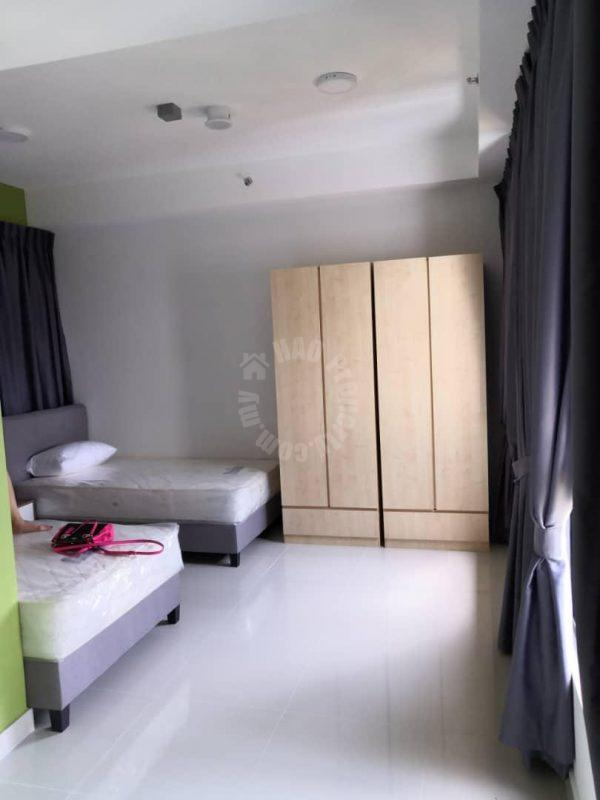 meridin executive suite highrise 409 sq.ft built-up rent price rm 1,000 #5234