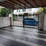 taman pulai hijaun terrace double storey terraced house 1540 square foot builtup rental price rm 1,200 at taman pulai hijauan, kangkar pulai, johor, malaysia #5269