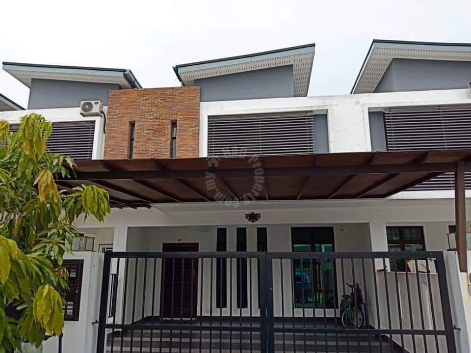 taman pulai hijaun terrace 2 storey terrace residence 1540 square-feet builtup lease from rm 1,200 on taman pulai hijauan, kangkar pulai, johor, malaysia #5263