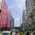jentayu residency  highrise 954 square-foot built-up lease at rm 1,100 at jentayu residency, jalan tampoi, beside capital 21 shopping mall #5183