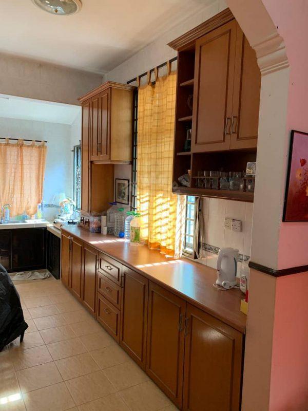 taman perling corner house single storey terrace home 1650 square feet builtup 3700 sq.ft built-up sale at rm 588,000 in jalan sutera, taman perling, johor bahru, johor, malaysia #5611