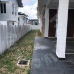 dato onn semi-d house special endlot double storey semi-detached residence 6600 square-foot built-up selling at rm 2,400,000 at jalan perjiranan 2, bandar dato onn #6322