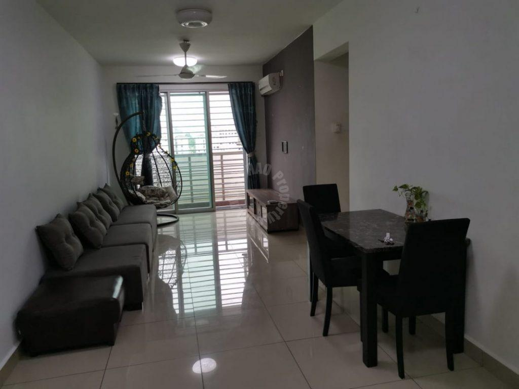 larkin height  residential apartment 916 square-feet builtup selling from rm 345,000 at larkin heights, jalan idaman utama, larkin, johor #6380
