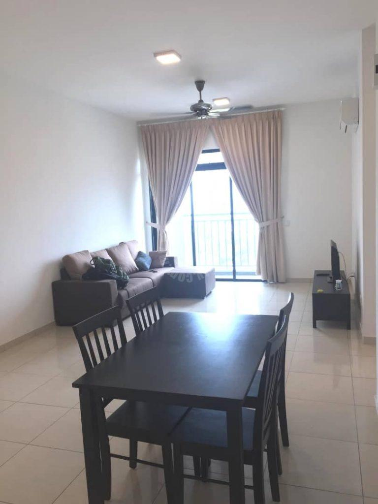 sky breeze 3 bedroom residential apartment 1150 square foot built-up rental at rm 2,200 at sky breeze #6490