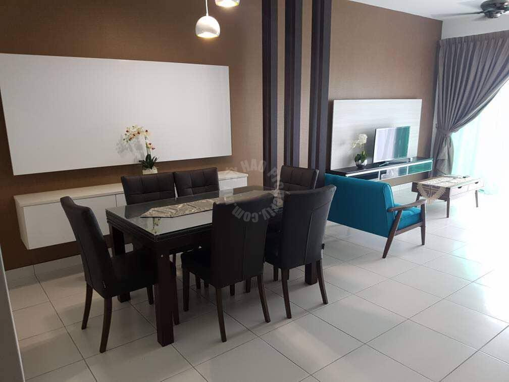 sky peak residence condo 1093 sq.ft built-up lease at rm 1,800 at sky peak #6508