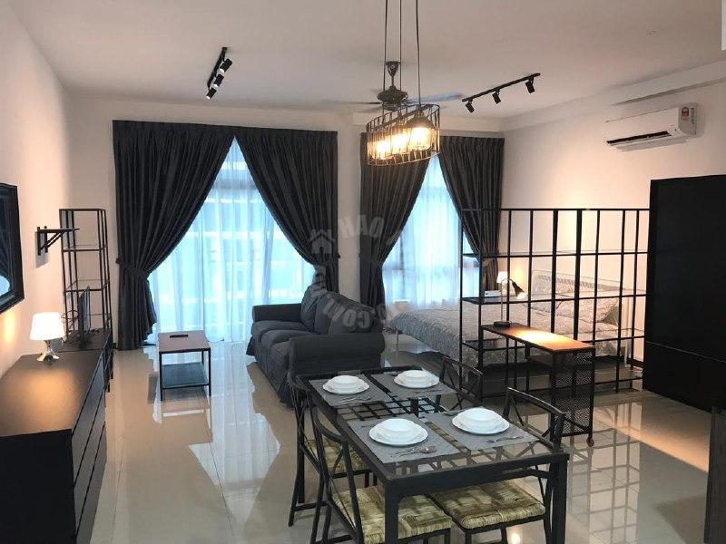 molek regency  condominium 640 square foot built-up lease from rm 1,500 at molek regency apartment #6119