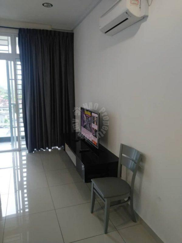 the senai garden 3room serviced apartment 950 square feet built-up lease price rm 1,800 in senai #7065