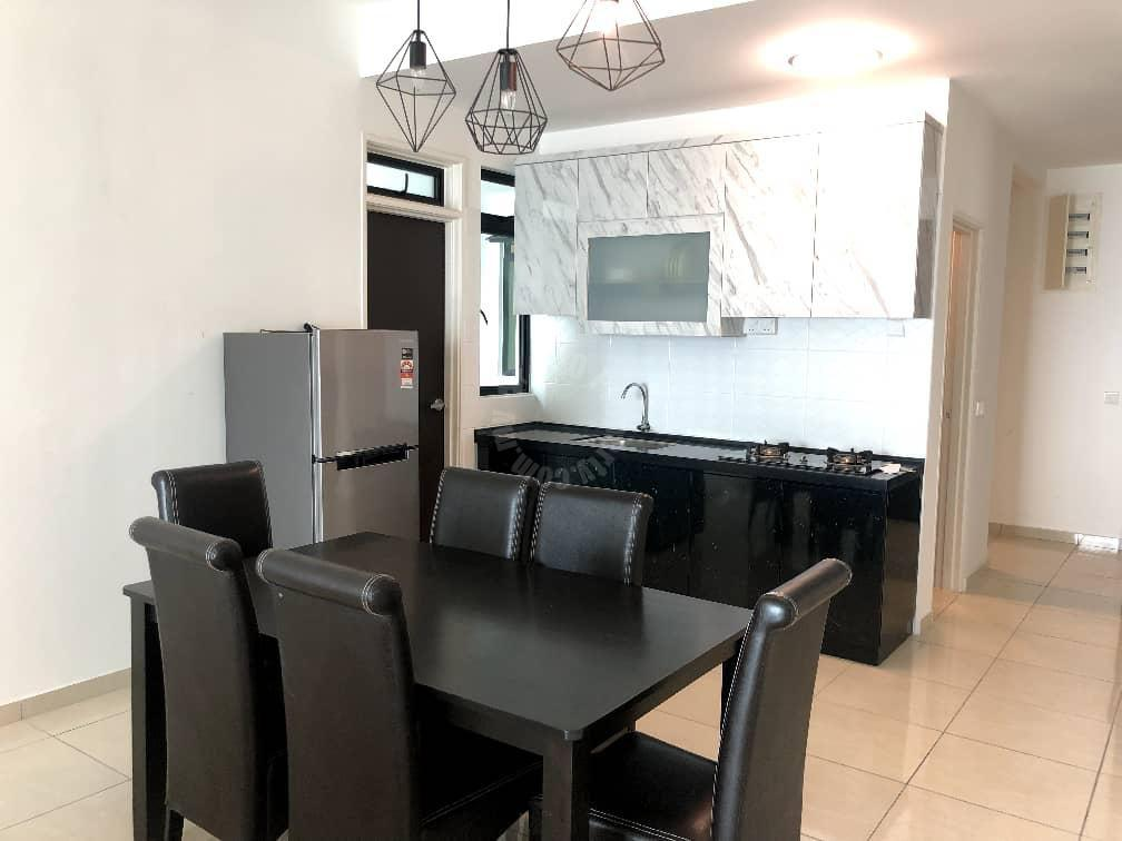 sky breeze /3 bedroom / bukit indah condo 1334 square feet built-up rent at rm 2,200 in jalan indah 13/1, bukit indah, johor bahru, johor, malaysia #7021