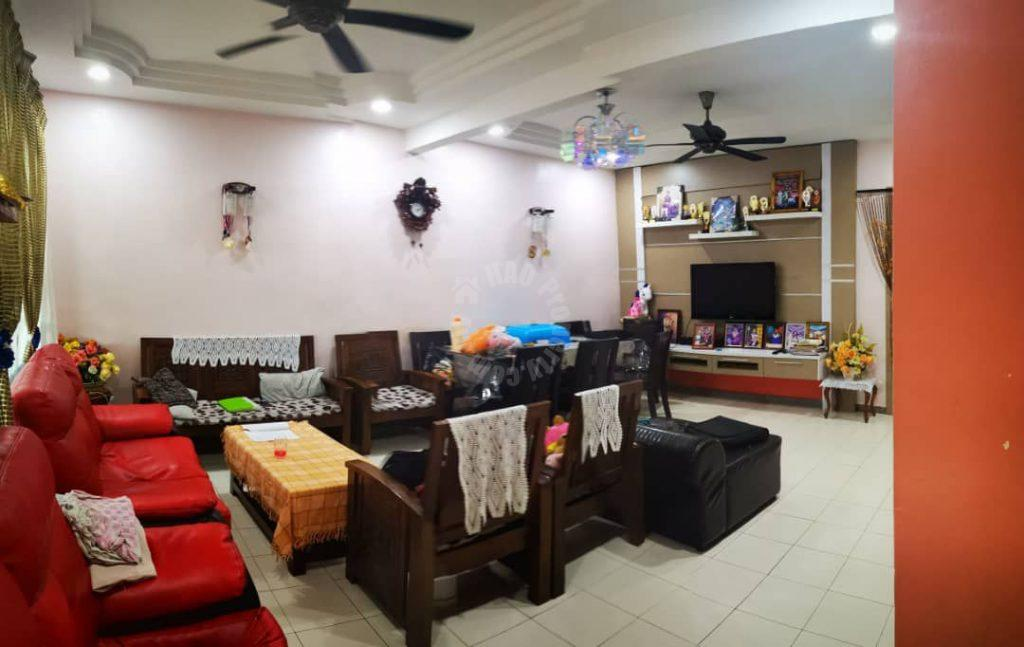 bandar putra kulai, spring ville single storey terraced home 1540 square-foot builtup selling at rm 428,000 on kulai #7091