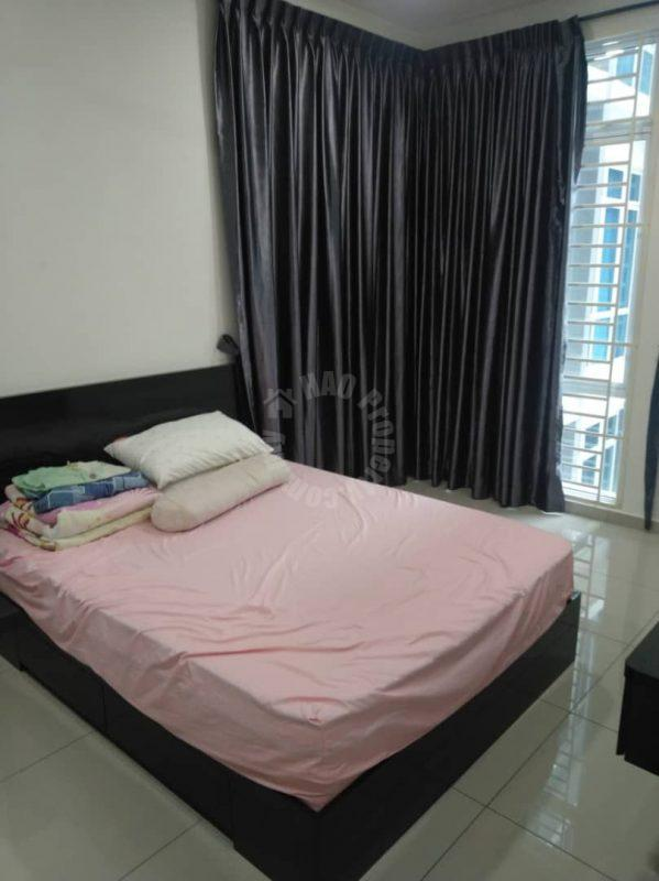 the senai garden 3room terrace residence 950 sq.ft builtup lease from rm 1,800 in senai #7148
