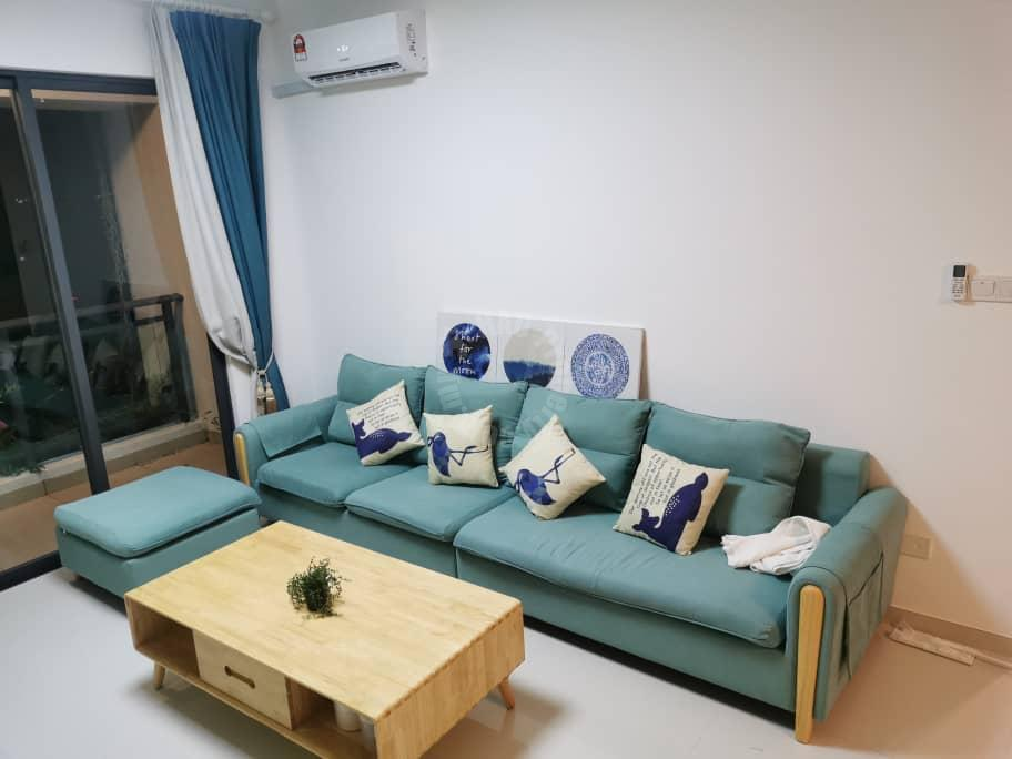 starview forest city highrise 979 square-foot built-up rental from rm 2,400 on forest city 森林城市 #7290