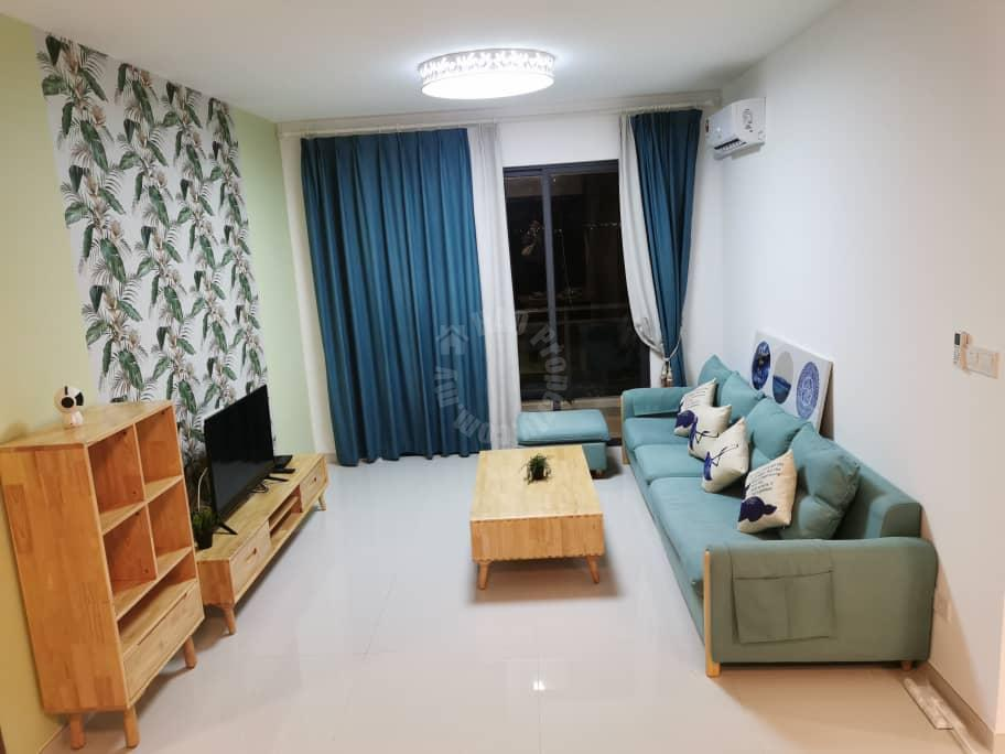 forest city starview  apartment 785 square-feet builtup rent from rm 2,200 at forest city johor bahru, gelang patah #7282