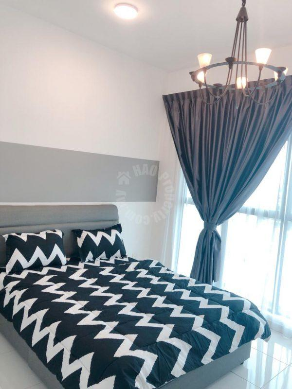 skyloft bukit indah highrise 1214 square-feet built-up lease price rm 2,200 on skyloft premium suites #7338