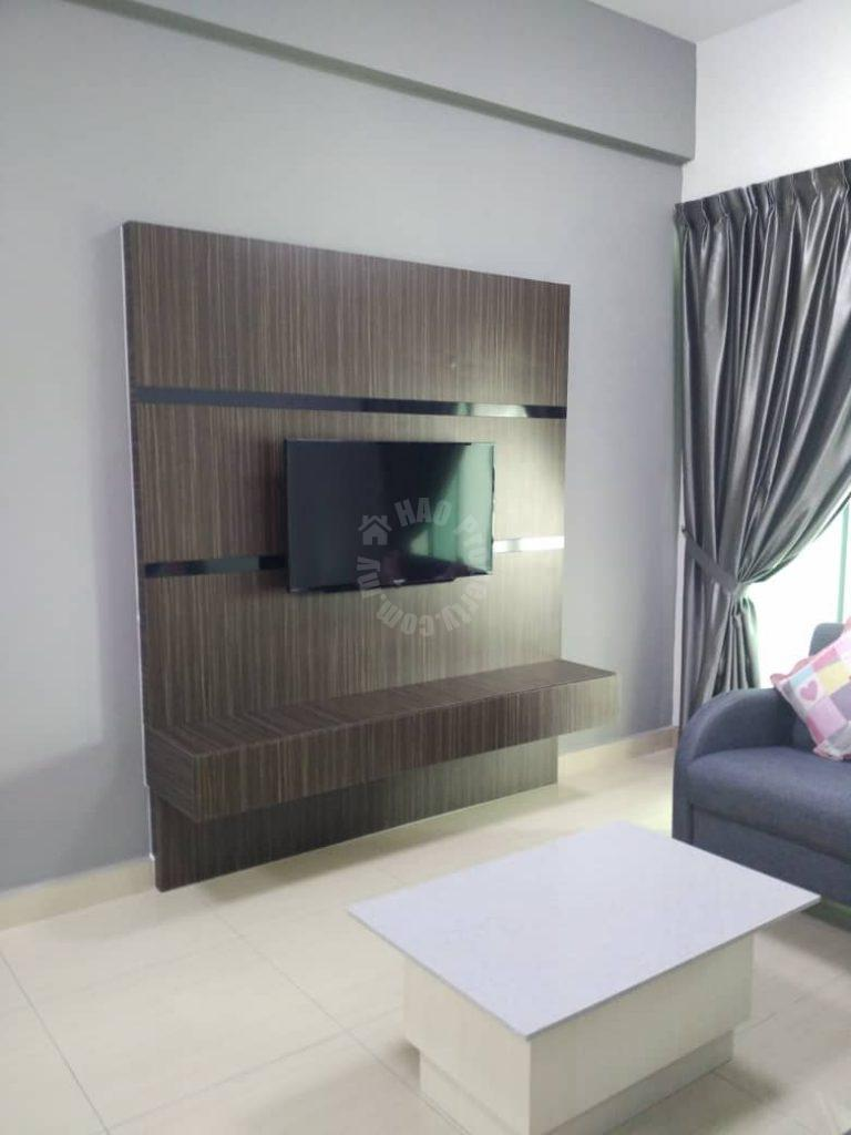 midori green 3 bedrooms serviced apartment 1033 square feet builtup rental from rm 1,700 at jalan mutiara emas 8, taman mount austin #7426