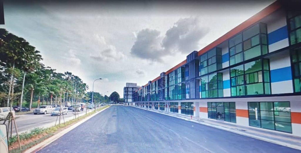s beside taman sutera utama 3 storeys shop property 4734 square foot builtup 1680 square-foot built-up sale from rm 2,500,000 at jalan sutera danga #7587
