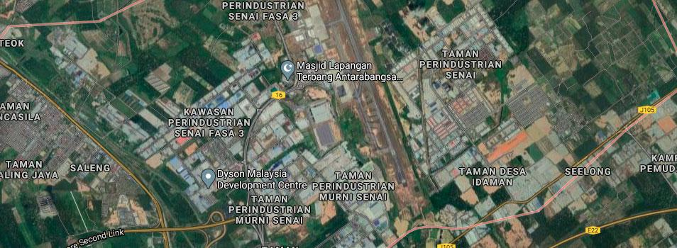 senai 27  lands 27 acres floor space selling from rm 64,686,600 at senai, johor, malaysia #7657
