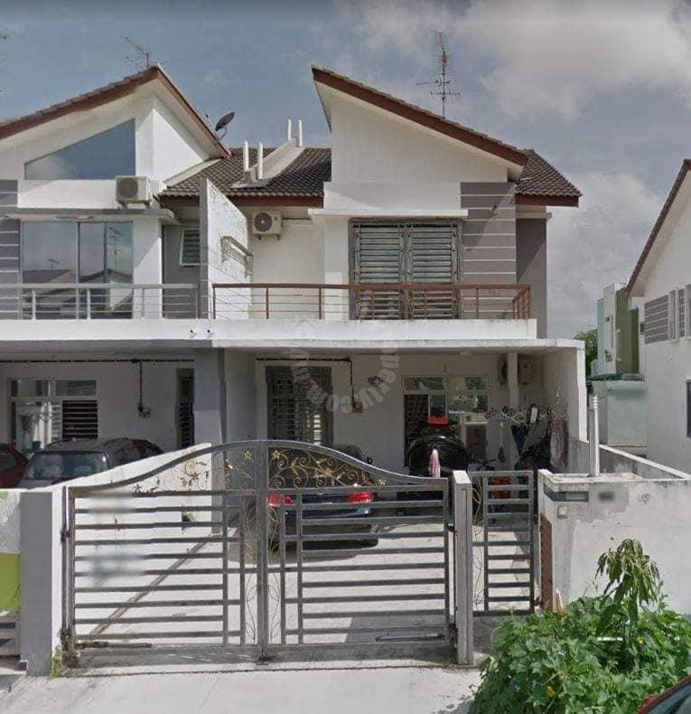 setia indah 双层排楼 2 storey link residence 1539 square-feet builtup auction rm 459,270 in setia indah #7721