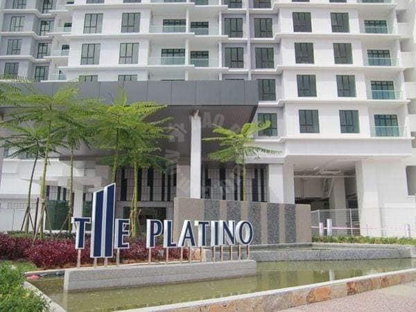 the platino serviced  serviced apartment 1453 square foot builtup auction rm 522,000 in the platino serviced apartment #7727