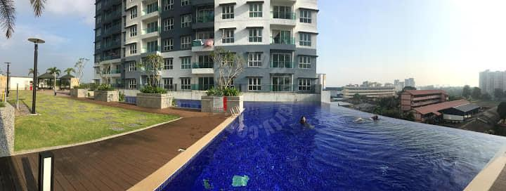 four season larkin serviced apartment 1010 square feet builtup auction rm 270,000 at four season apartment larkin #7693